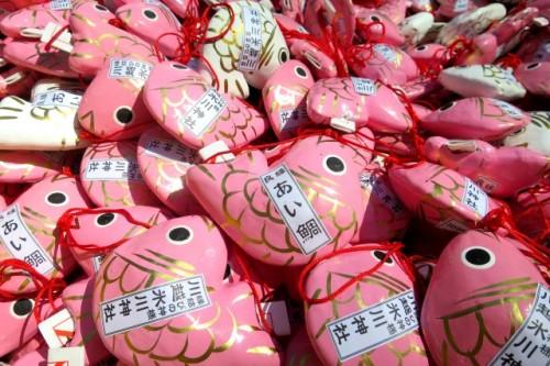 埼玉県川越氷川神社・めで鯛