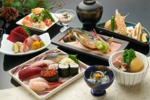 ホテルの日本料理