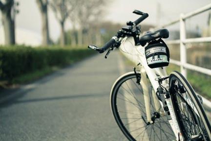 自転車通勤で渋滞緩和やCO2削減に貢献