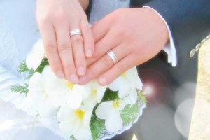 結婚式で永遠の誓い