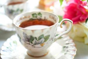ティーラウンジでお茶する