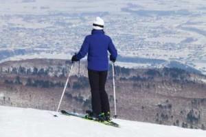 SAJ1級女性スキーヤー