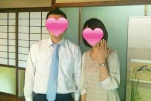 婚約指輪をいただいた成婚女性