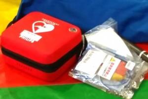 救急救命講習で応急手当の訓練