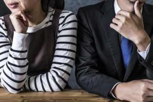 離婚の危機にある新婚夫婦