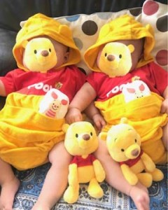 成婚者に双子の赤ちゃんが生まれる